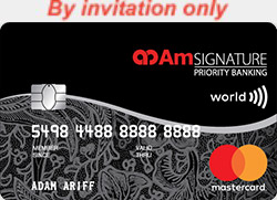 AmBank SIGNATURE Priority Banking World Mastercard