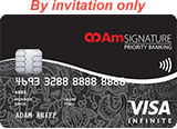 AmBank SIGNATURE Priority Banking Visa Infinite Card