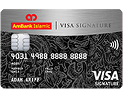 AmBank Islamic Visa Signature Card-i