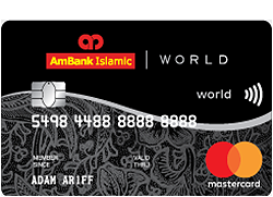 AmBank Islamic World Mastercard
