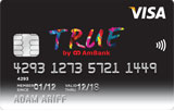 AmBank TRUE VISA Credit Card