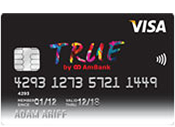AmBank TRUE Visa Card