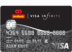 AmBank Visa Infinite Card