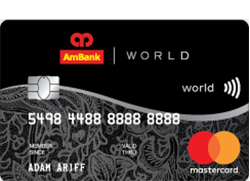 AmBank World Mastercard