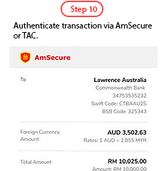 AmBank Foreign Telegraphic Transfer Overseas Education Fund Transfer Campaign