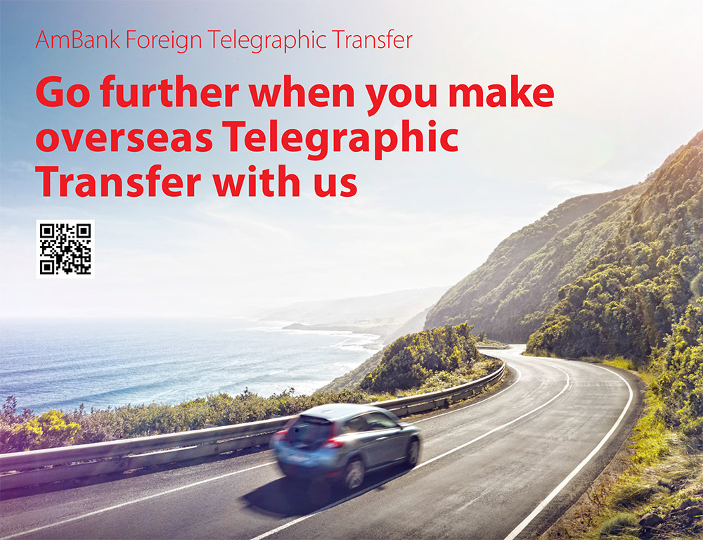 AmBank Foreign Telegraphic Transfer Get Fuel Up Campaign